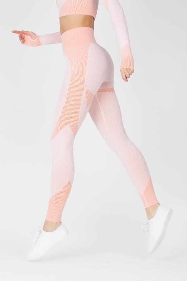 Naine 4.0. Bezešvé Legíny Curve - Pink - 3