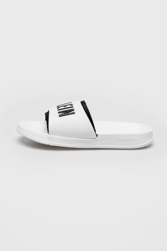 Calvin Klein Pantofle White - 3