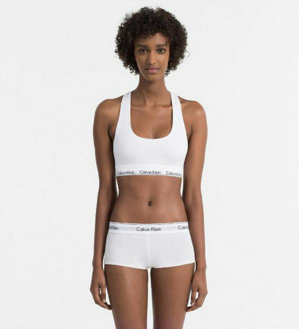 Calvin Klein Shorts Modern Cotton White, L - 3
