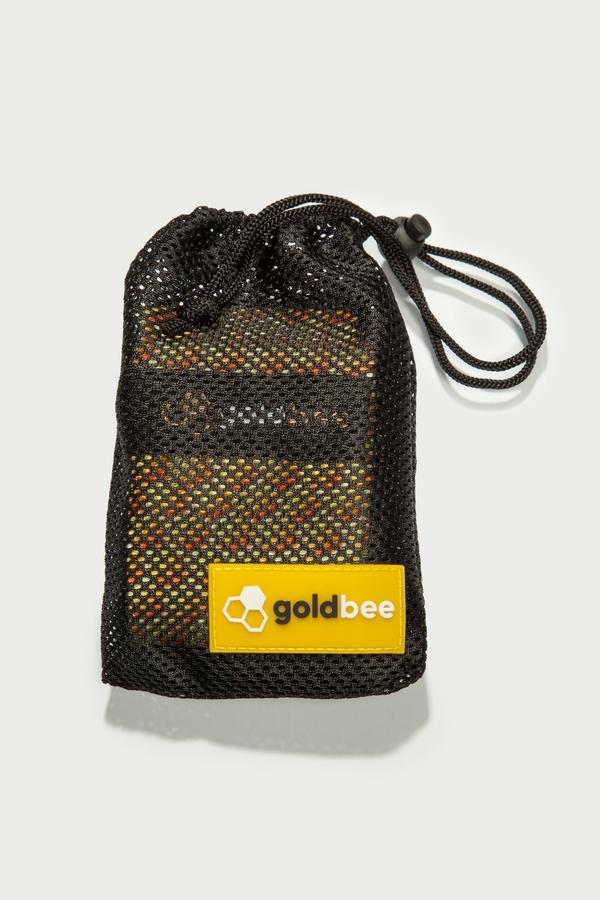 GoldBee Textilní Odporová Guma Honeycombs, S - 3
