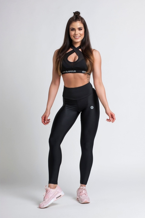 Gym Glamour Legíny Black, S - 3