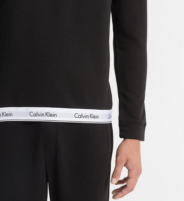 Calvin Klein Mikina Pánská Černá, L - 3