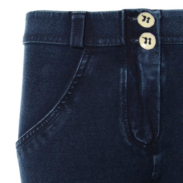 Freddy Jeans 7/8 Modré S Modrými Švy Normální Pas SS18, S - 3