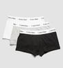 Calvin Klein 3Pack Boxerky Black, Grey&White LR, XL - 3/3
