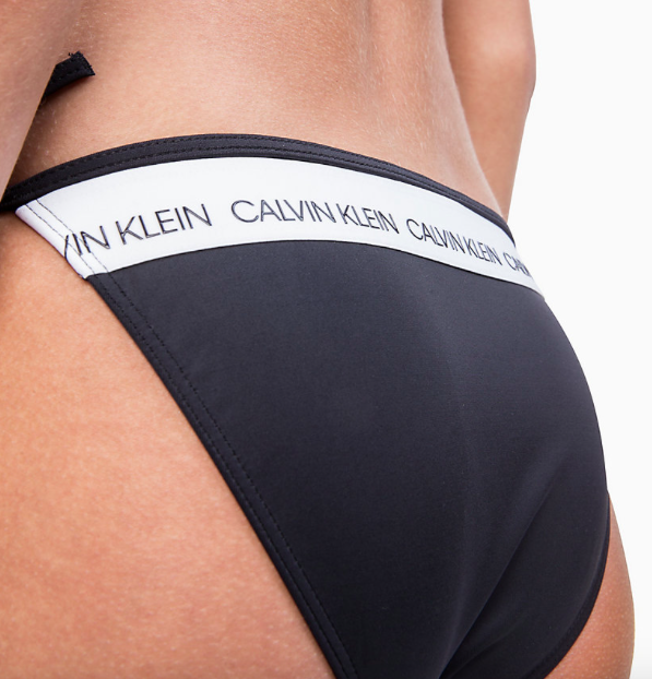 Calvin Klein Plavky CK Logo Black Spodní Díl, M - 3