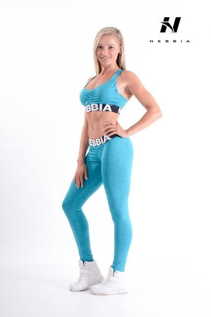 Nebbia Sportovní Podprsenka 223 Modrá, L - 3