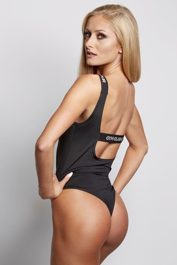 Gym Glamour Bodyčko Černé, S - 3