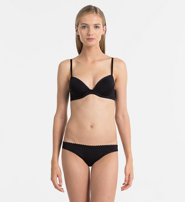 Calvin Klein Tanga Seductive Comfort Black, M - 3
