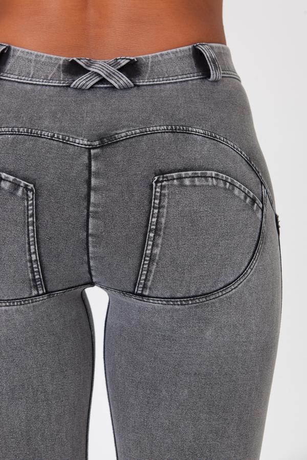 Boost Jeans Mid Waist Grey, M - 3