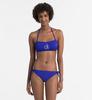 Calvin Klein Plavky NYC Bandeau Modré Vrchní Díl, M - 3/3