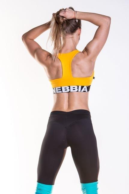 Nebbia Supplex Sportovní Podprsenka 207 Žlutá, L - 3