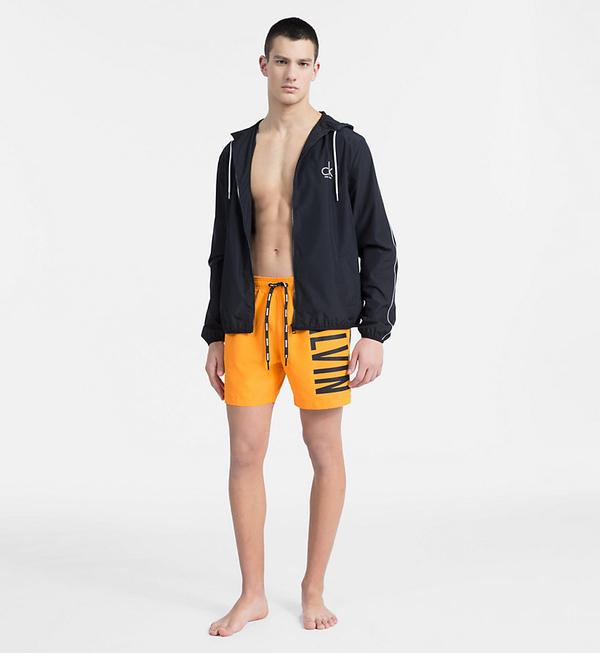 Calvin Klein Plavkové Šortky Intense Power Orange, XL - 3