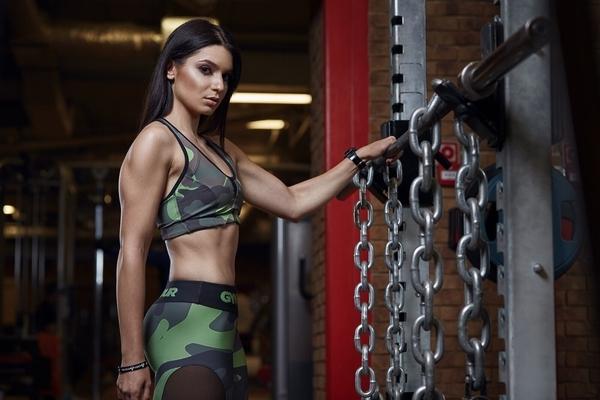 Gym Glamour Podprsenka Moro Intensive, S - 3