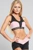 Gym Glamour Podprsenka Pink Zipped, S - 3/3