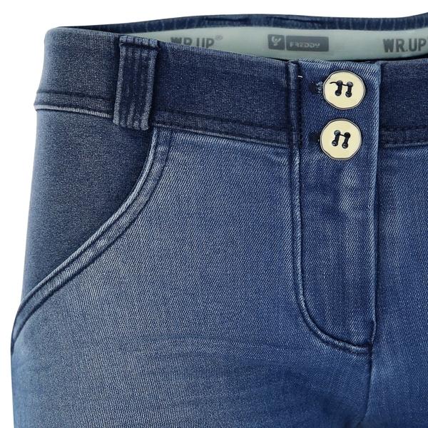 Freddy Jeans Modré Vyšisované Normální Pas SS18, S - 3