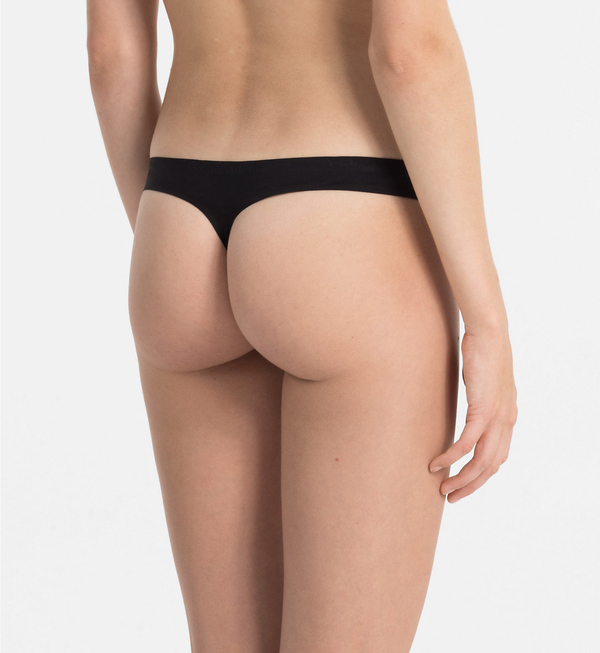 Calvin Klein Thong Perfectly Fit Černé, L - 3