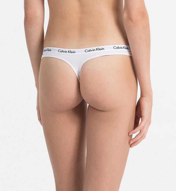 Calvin Klein 3Pack Thong Black&White, XS - 3
