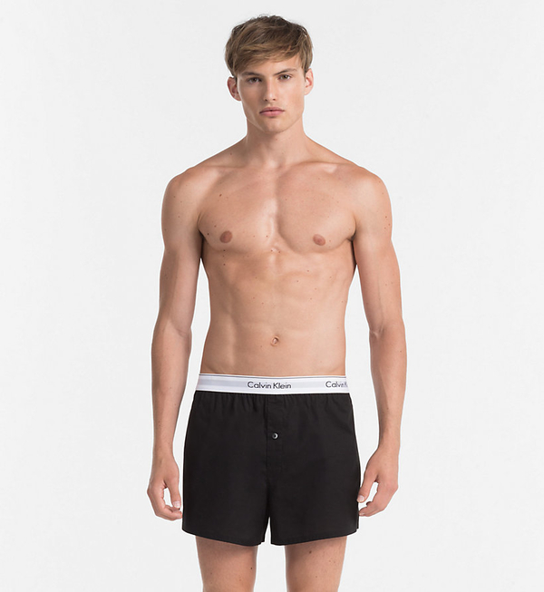 Calvin Klein 2Pack Trenky Black&Grey, M - 3