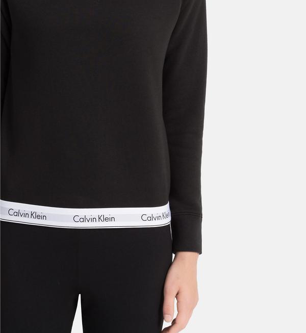 Calvin Klein Mikina Černá  - 3