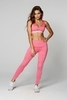 Gym Glamour Legíny High Waist Pink - 3/5