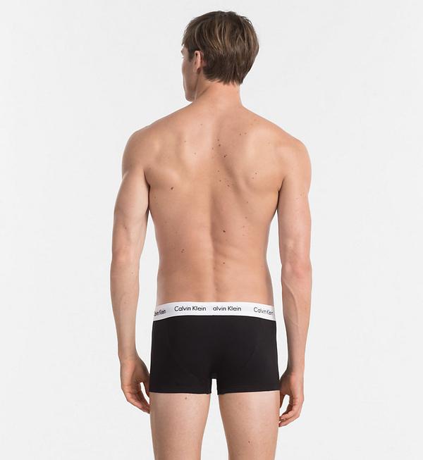 Calvin Klein 3Pack Boxerky Black LR, XL - 3