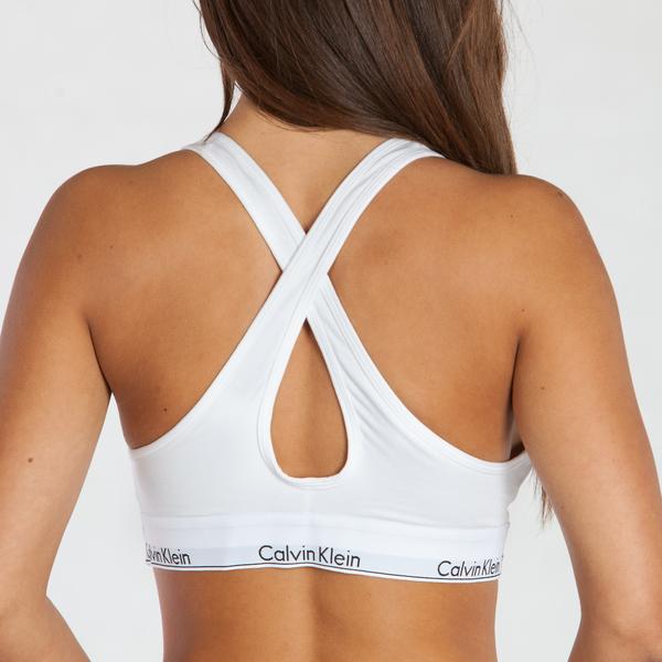 Calvin Klein Podprsenka Bralette Lift White, S - 3