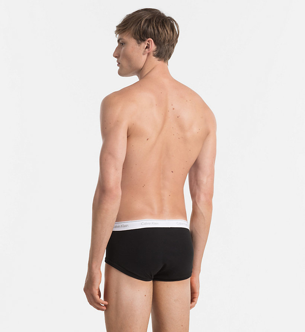 Calvin Klein 3Pack Slipy Black, L - 3