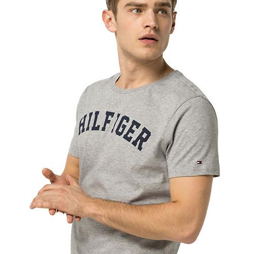 Tommy Hilfiger Pánské Tričko Iconic Grey, XL - 3