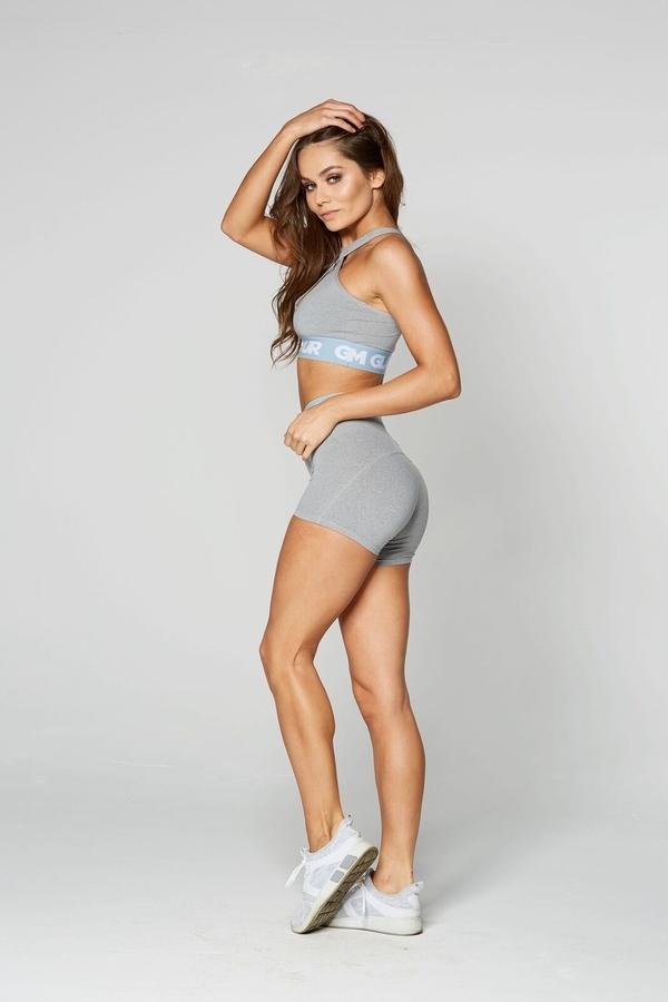 Gym Glamour Kraťásky Grey, XS - 3