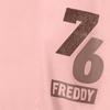 Freddy Oversize Triko Růžové, M - 3/3