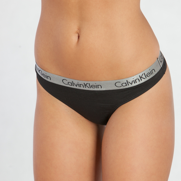 Calvin Klein Tanga Radiant Černá, S - 3