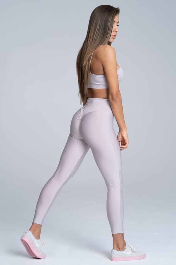 Gym Glamour Legíny High Waist Broken White, XS - 3