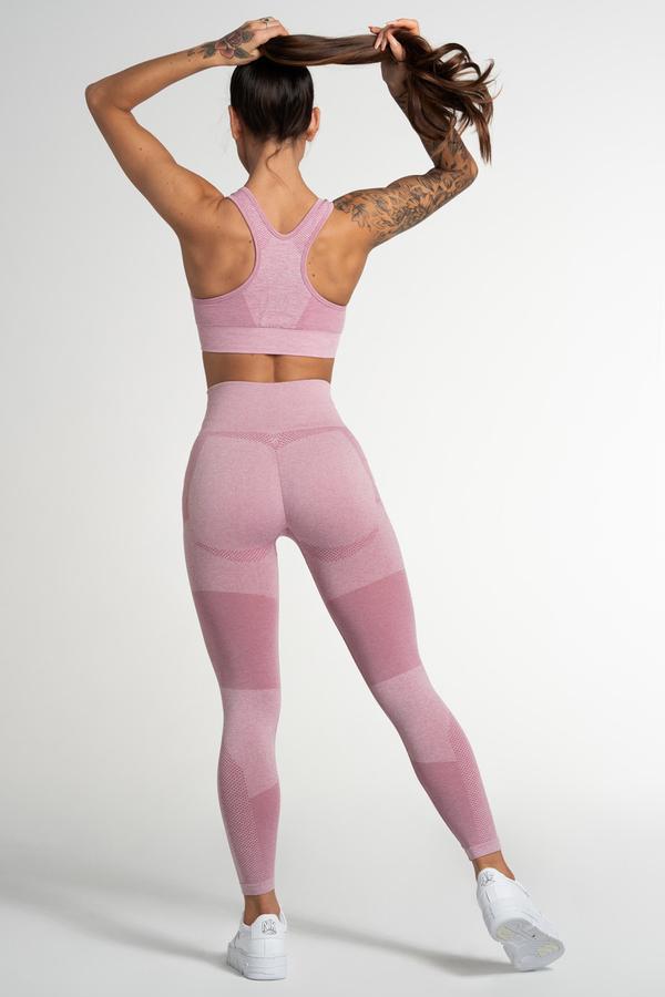Gym Glamour Legíny Bezešvé Fusion Pink - 3