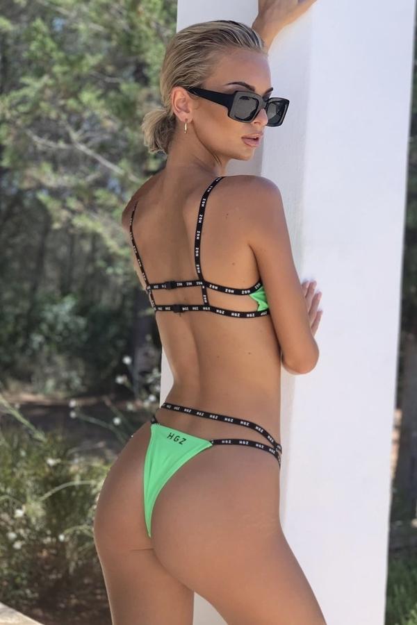 Hugz Plavky Ibiza Sport Bikini Zelené - 3