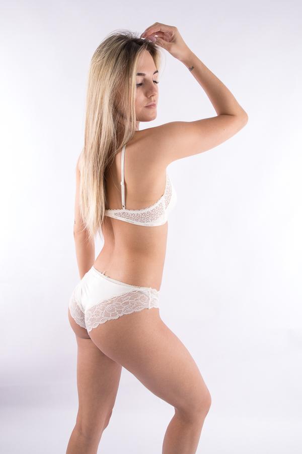 Calvin Klein Kalhotky Flirty Krémové, S - 3