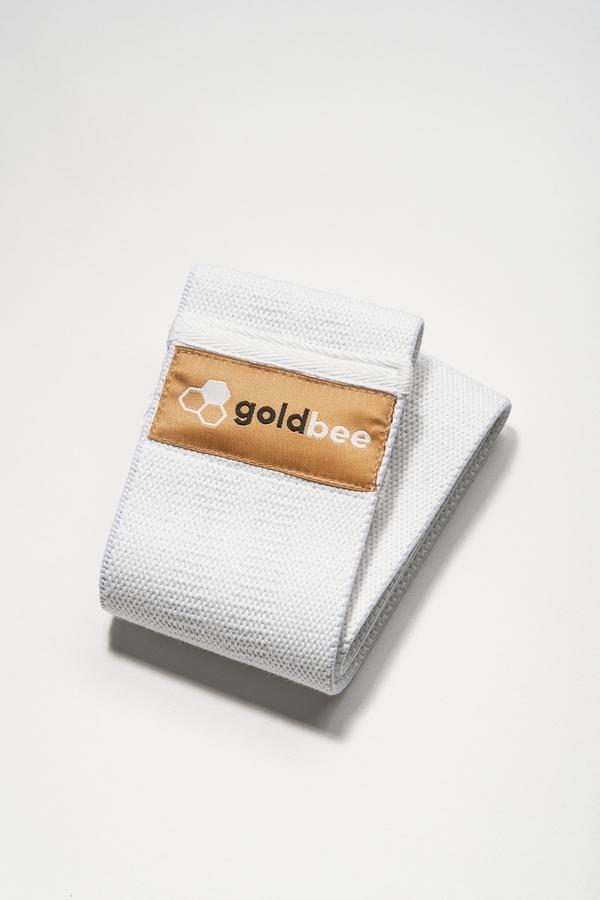GoldBee Bavlněná Odporová Guma White, S - 3
