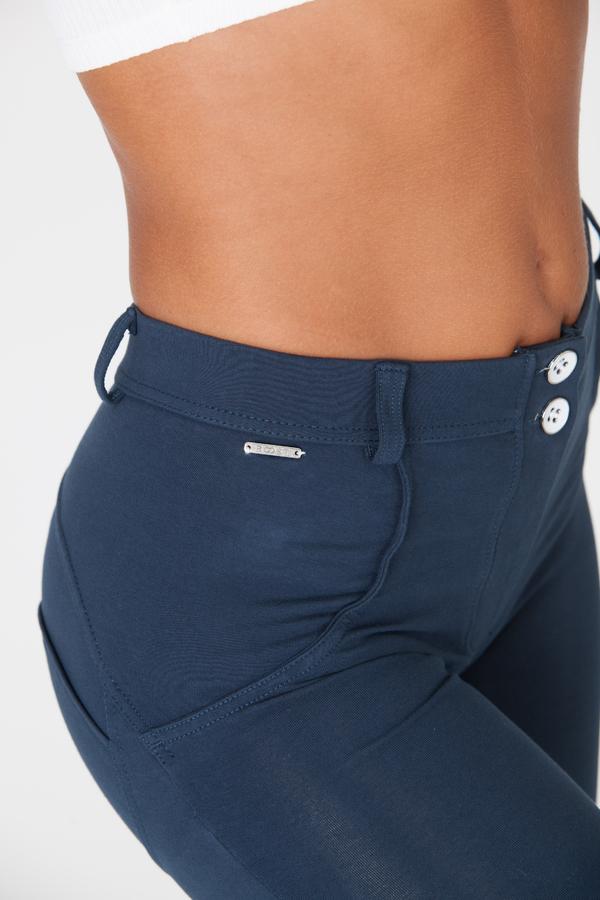 Boost Pants Mid Waist Dark Blue - 3