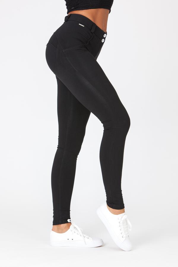 Boost Pants Mid Waist Black - 3