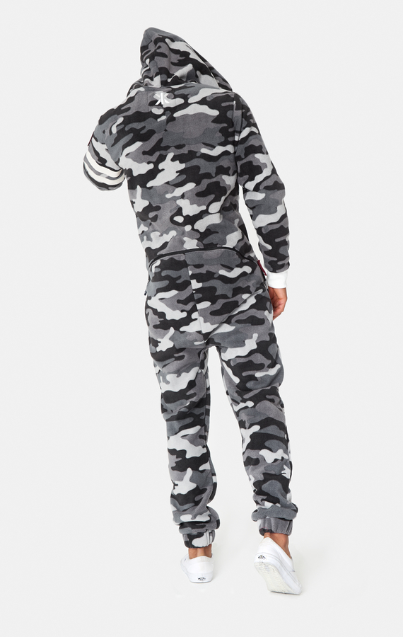 OnePiece Alps Camo Fleece Black - 3