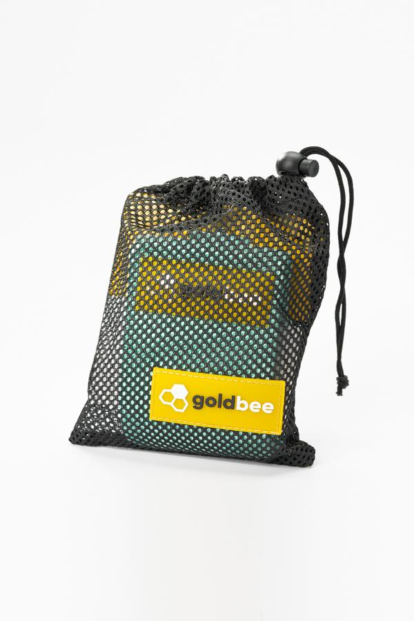 GoldBee Textilní Odporová Guma - Tyrkysová, M - 3