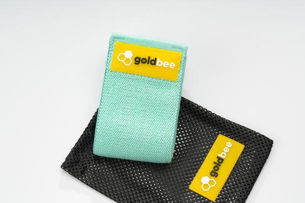 GoldBee Textilní Odporová Guma - Tyrkysová - 3