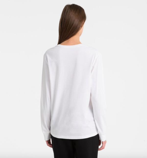 Calvin Klein Tričko Logo White, S - 3