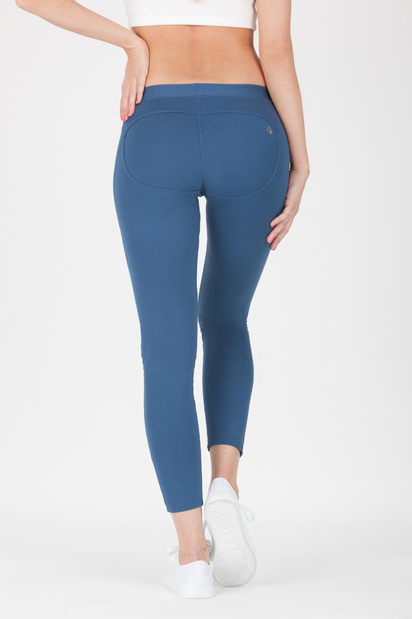 GoldBee Kalhoty BeUp Denim Blue, XS - 3