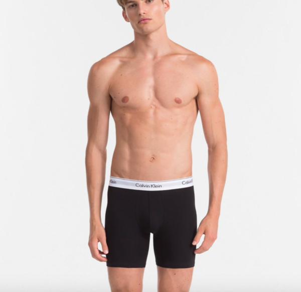Calvin Klein 2Pack Boxerky Dlouhé Black&Grey - 3