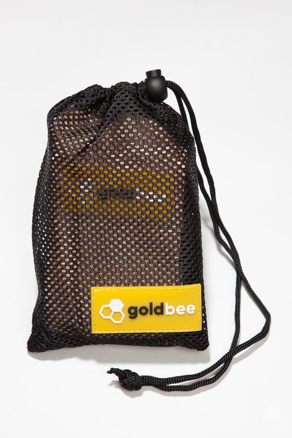 GoldBee Textilní Odporová Guma Meruňková, L - 3