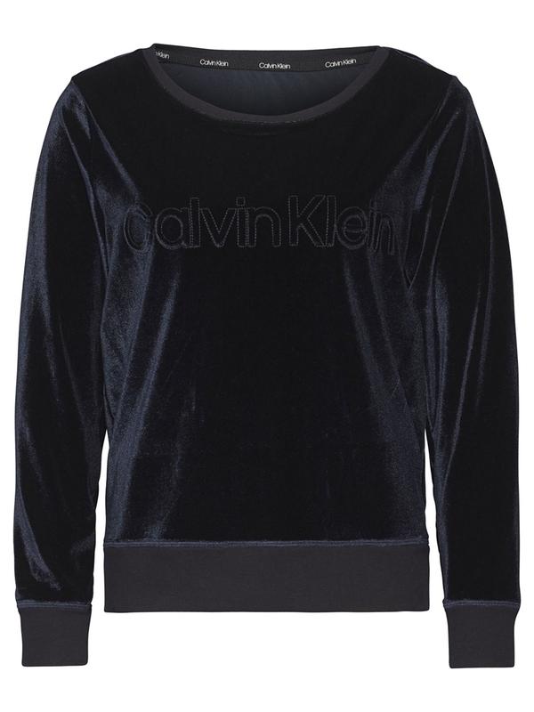 Calvin Klein Mikina Semišová Černá, M - 3