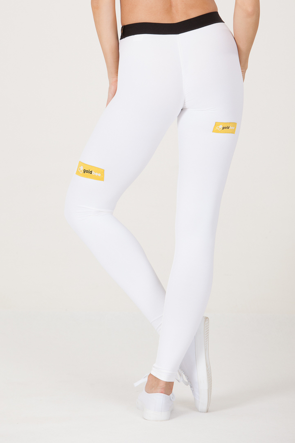 Goldbee Legíny BeSticker Outside White, XS - 3