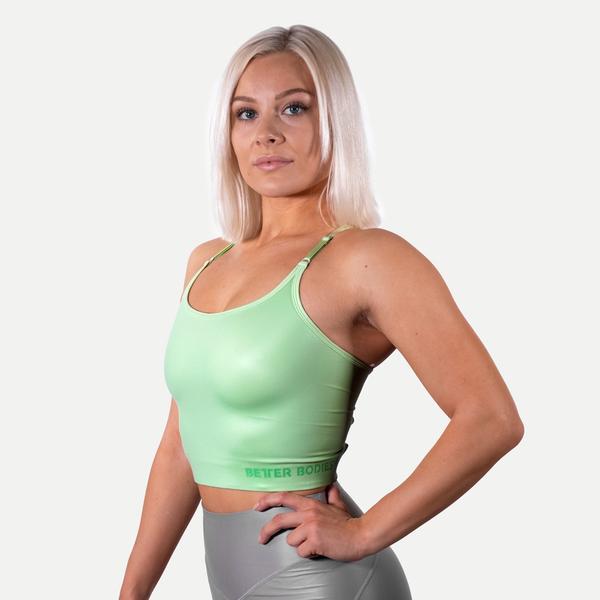 Better Bodies Podprsenka Vesey Strap V2 Mint Green, L - 3