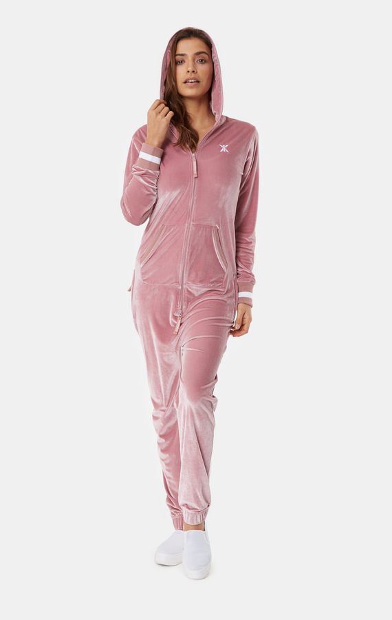 OnePiece Original Velour Faded Pink, XS - 4