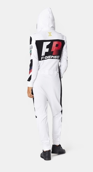 OnePiece Overal Formula White - 4